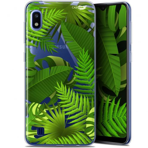 """Coque Gel Samsung Galaxy A10 (6.2"""") Extra Fine Motif - Plantes des Tropiques"""