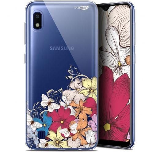 """Coque Gel Samsung Galaxy A10 (6.2"""") Extra Fine Motif - Nuage Floral"""