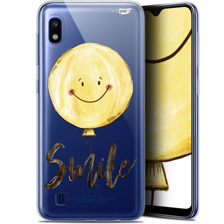 "Coque Gel Samsung Galaxy A10 (6.2"") Extra Fine Motif - Smile Baloon"