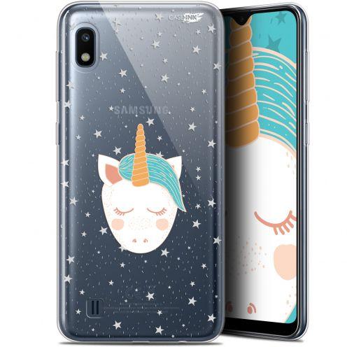 """Coque Gel Samsung Galaxy A10 (6.2"""") Extra Fine Motif - Licorne Dors"""