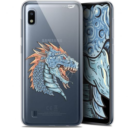 "Coque Gel Samsung Galaxy A10 (6.2"") Extra Fine Motif - Dragon Draw"