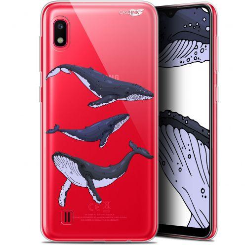 "Coque Gel Samsung Galaxy A10 (6.2"") Extra Fine Motif - Les 3 Baleines"