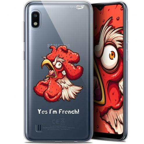 """Coque Gel Samsung Galaxy A10 (6.2"""") Extra Fine Motif - I'm French Coq"""