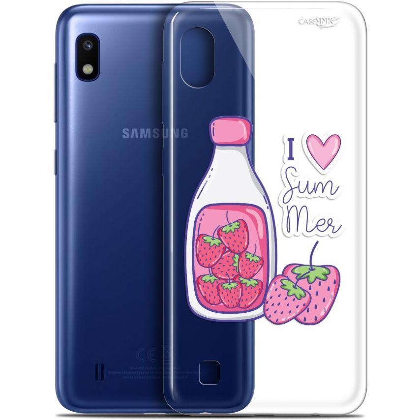"Coque Gel Samsung Galaxy A10 (6.2"") Extra Fine Motif - Milky Summer"