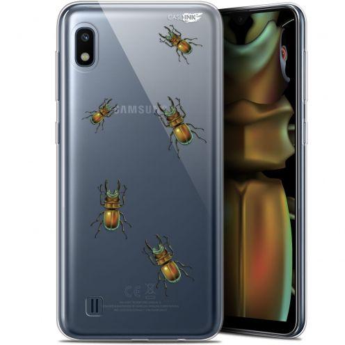 "Coque Gel Samsung Galaxy A10 (6.2"") Extra Fine Motif - Petits Scarabés"
