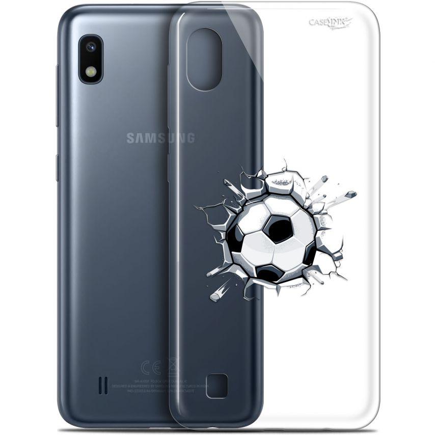 """Coque Gel Samsung Galaxy A10 (6.2"""") Extra Fine Motif - Le Balon de Foot"""