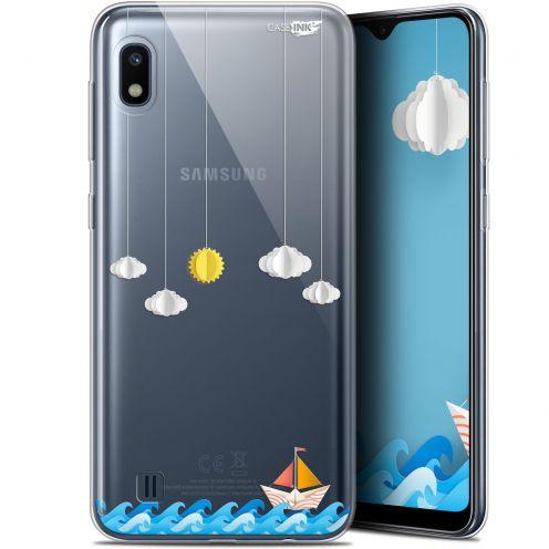 """Coque Gel Samsung Galaxy A10 (6.2"""") Extra Fine Motif - Petit Bateau en Mer"""