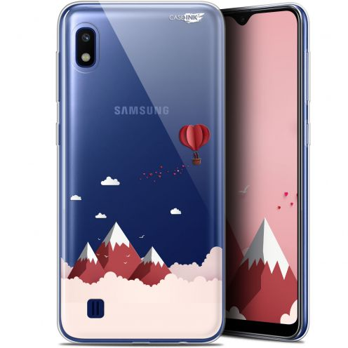 """Coque Gel Samsung Galaxy A10 (6.2"""") Extra Fine Motif - Montagne En Montgolfière"""