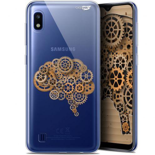 "Coque Gel Samsung Galaxy A10 (6.2"") Extra Fine Motif - Mécanismes du Cerveau"