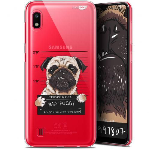 "Coque Gel Samsung Galaxy A10 (6.2"") Extra Fine Motif - Beware The Puggy Dog"