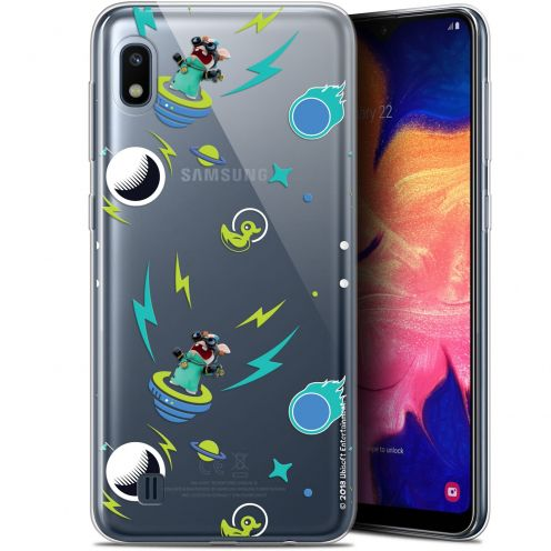 "Coque Gel Samsung Galaxy A10 (6.2"") Extra Fine Lapins Crétins™ - Space 1"