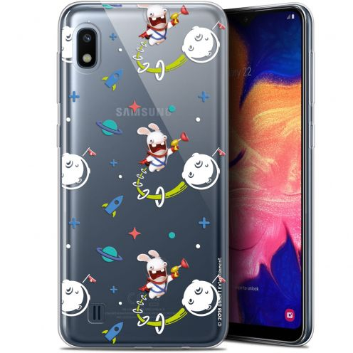 "Coque Gel Samsung Galaxy A10 (6.2"") Extra Fine Lapins Crétins™ - Space 2"