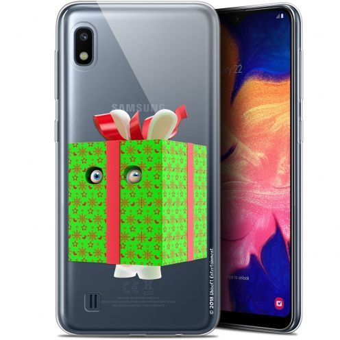 "Coque Gel Samsung Galaxy A10 (6.2"") Extra Fine Lapins Crétins™ - Lapin Surprise Vert"