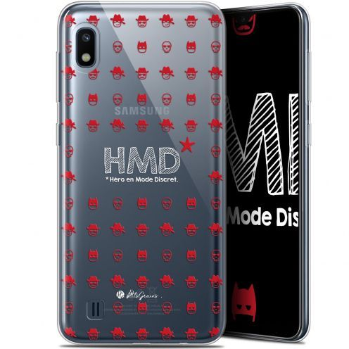 "Coque Gel Samsung Galaxy A10 (6.2"") Extra Fine Petits Grains® - HMD* Hero en Mode Discret"