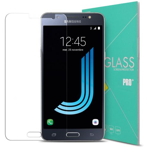 Protection d'écran Verre trempé Samsung Galaxy J5 2016 (J510) - 9H Glass Pro+ HD 0.33mm 2.5D