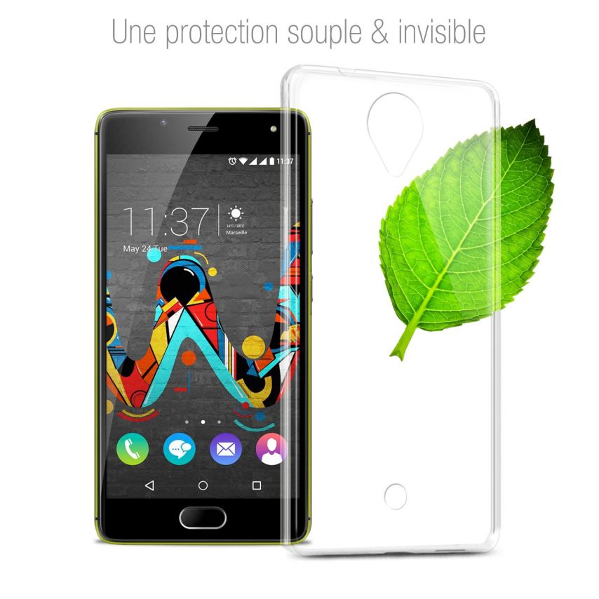Coque Wiko U Feel Extra Fine Souple Crystal Clear