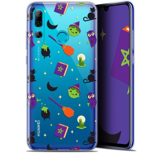 "Coque Gel Huawei P Smart+ / Plus 2019 (6.2"") Extra Fine Halloween - Witch Potter"