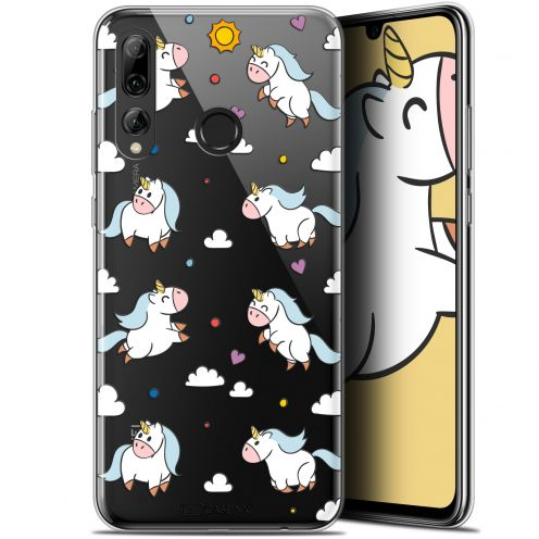 "Coque Gel Huawei P Smart+ / Plus 2019 (6.2"") Extra Fine Fantasia - Licorne In the Sky"