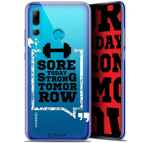 """Coque Gel Huawei P Smart+ / Plus 2019 (6.2"""") Extra Fine Quote - Strong Tomorrow"""