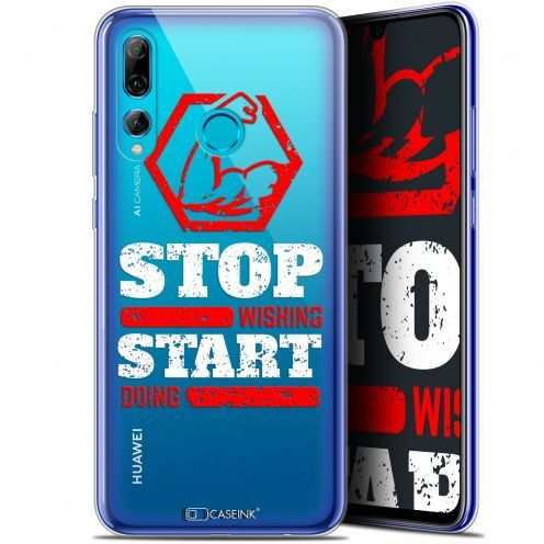 "Coque Gel Huawei P Smart+ / Plus 2019 (6.2"") Extra Fine Quote - Start Doing"