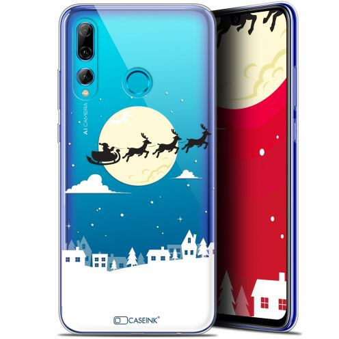 "Coque Gel Huawei P Smart+ / Plus 2019 (6.2"") Extra Fine Noël 2017 - Flying Stanta"
