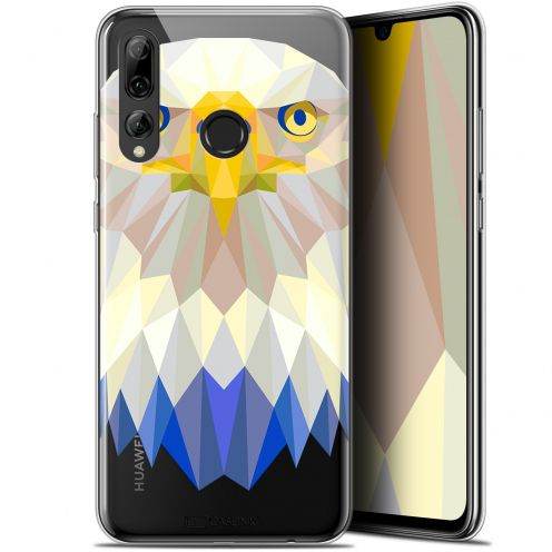"Coque Gel Huawei P Smart+ / Plus 2019 (6.2"") Extra Fine Polygon Animals - Aigle"