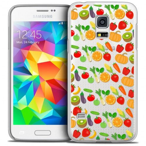 Coque Crystal Galaxy S5 Mini Extra Fine Foodie - Healthy