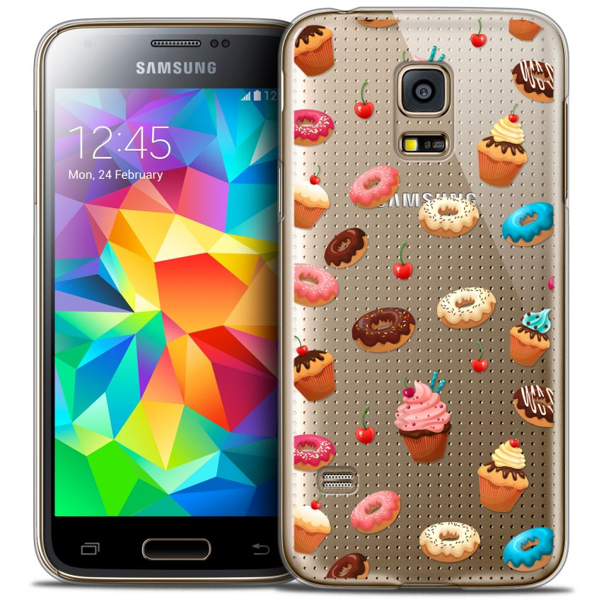 Coque Crystal Galaxy S5 Mini Extra Fine Foodie - Donuts