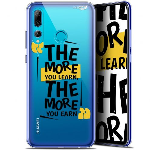 """Coque Gel Huawei P Smart+ / Plus 2019 (6.2"""") Extra Fine Motif - The More You Learn"""