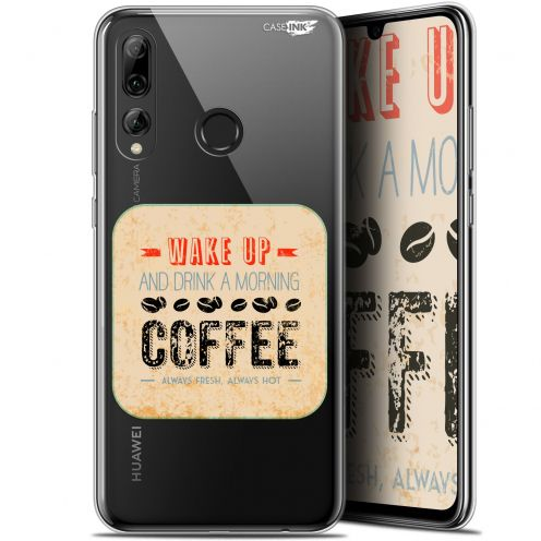 "Coque Gel Huawei P Smart+ / Plus 2019 (6.2"") Extra Fine Motif - Wake Up With Coffee"