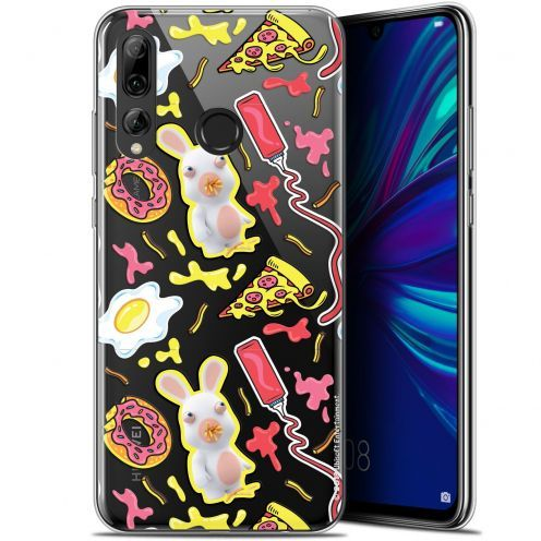 """Coque Gel Huawei P Smart+ / Plus 2019 (6.2"""") Extra Fine Lapins Crétins™ - Egg Pattern"""
