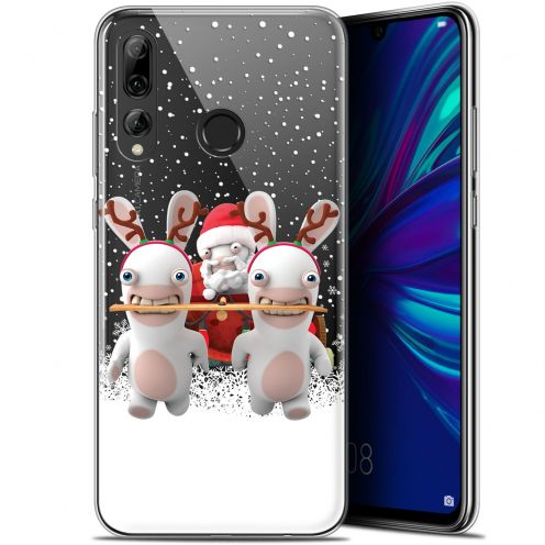 """Coque Gel Huawei P Smart+ / Plus 2019 (6.2"""") Extra Fine Lapins Crétins™ - Lapin Traineau"""