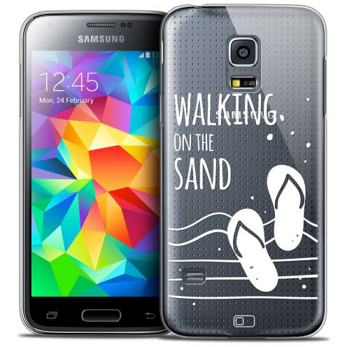 Coque Crystal Galaxy S5 Mini Extra Fine Summer - Walking on the Sand