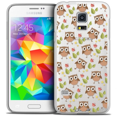 Coque Crystal Galaxy S5 Mini Extra Fine Summer - Hibou