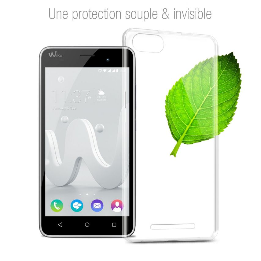 Coque Wiko Jerry Extra Fine Souple Crystal Clear