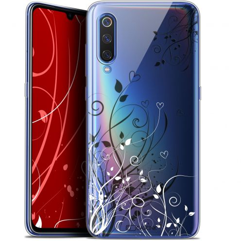 "Coque Gel Xiaomi Mi 9 (6.4"") Extra Fine Love - Hearts Flowers"
