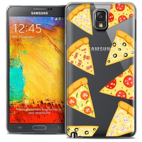 Coque Crystal Galaxy Note 3 Extra Fine Foodie - Pizza