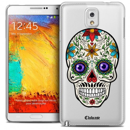 Coque Crystal Galaxy Note 3 Extra Fine Skull - Maria's Flower