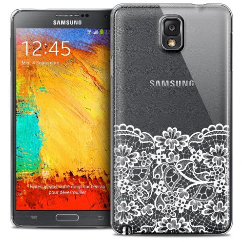 Coque Crystal Galaxy Note 3 Extra Fine Spring - Bas dentelle