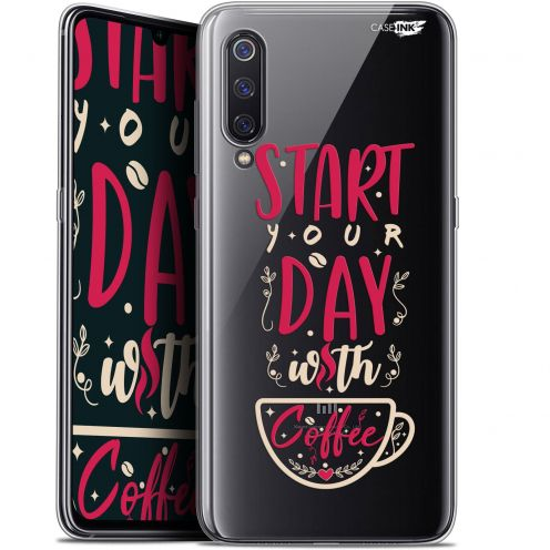 "Coque Gel Xiaomi Mi 9 (6.4"") Extra Fine Motif - Start With Coffee"