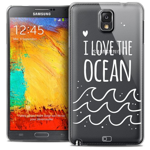 Coque Crystal Galaxy Note 3 Extra Fine Summer - I Love Ocean