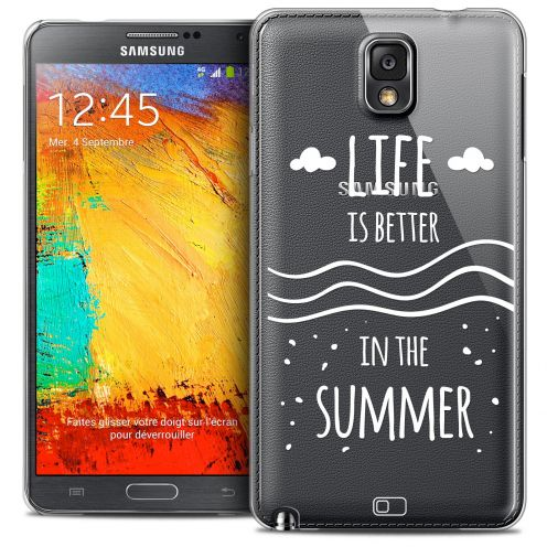 Coque Crystal Galaxy Note 3 Extra Fine Summer - Life's Better