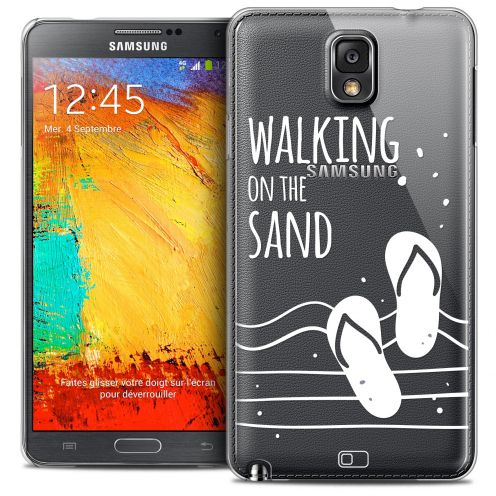 Coque Crystal Galaxy Note 3 Extra Fine Summer - Walking on the Sand