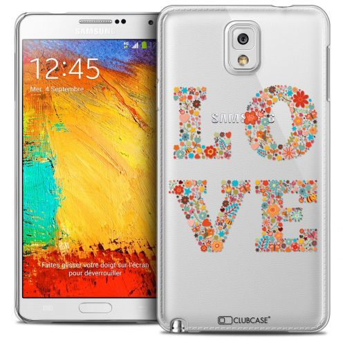Coque Crystal Galaxy Note 3 Extra Fine Summer - Love Flowers