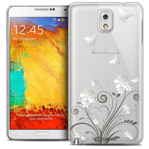 Coque Crystal Galaxy Note 3 Extra Fine Summer - Papillons
