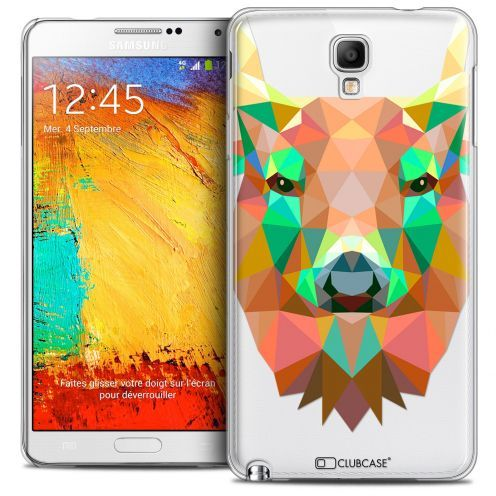 Coque Crystal Galaxy Note 3 Neo/Mini Extra Fine Polygon Animals - Cerf