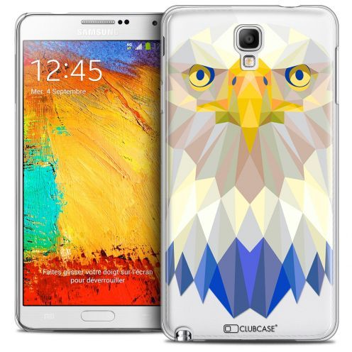 Coque Crystal Galaxy Note 3 Neo/Mini Extra Fine Polygon Animals - Aigle