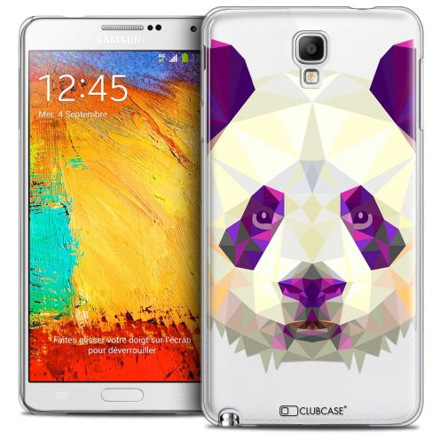 Coque Crystal Galaxy Note 3 Neo/Mini Extra Fine Polygon Animals - Panda