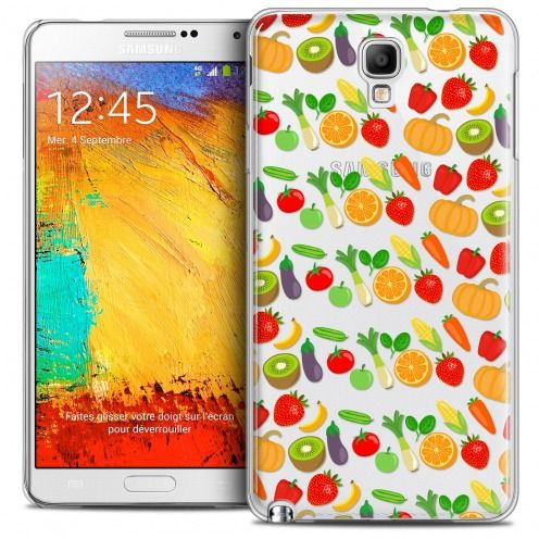 Coque Crystal Galaxy Note 3 Neo/Mini Extra Fine Foodie - Healthy