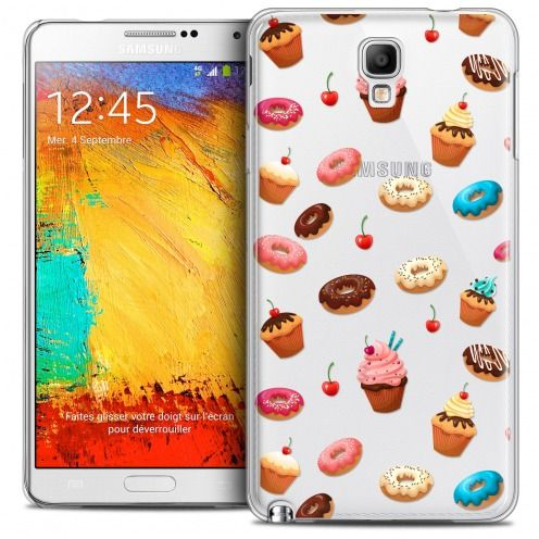 Coque Crystal Galaxy Note 3 Neo/Mini Extra Fine Foodie - Donuts
